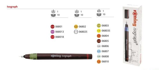 "Picture of ""Rotring"" Isograph - 0,18"