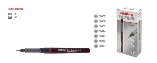 """Picture of """"Rotring"""" Tikky Graphic - 0,4"""
