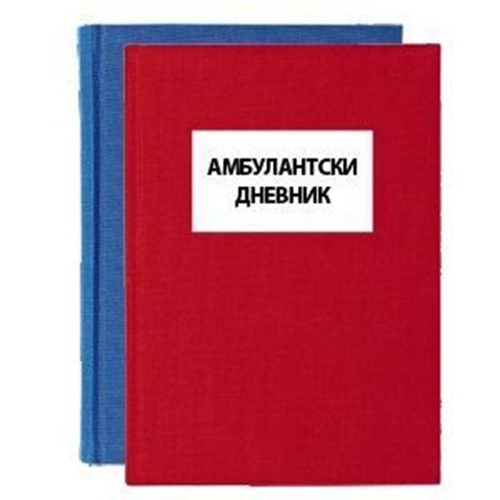 Слика од Амбулантски дневник 100л.