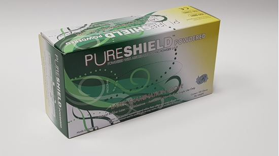 Picture of Latex Examination Glove - Powdered - (L)